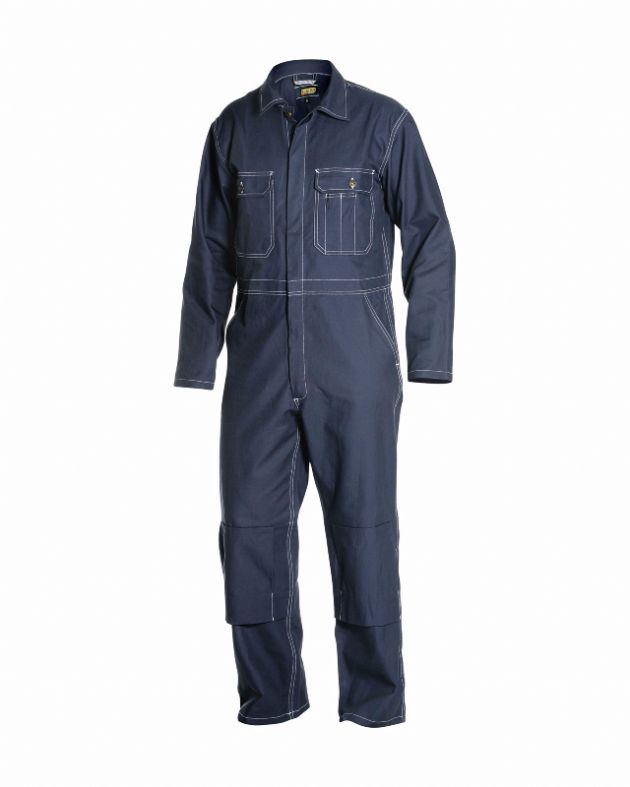 Blaklader Workwear | 6151 Navy 100% Cotton Overall | Work Overalls